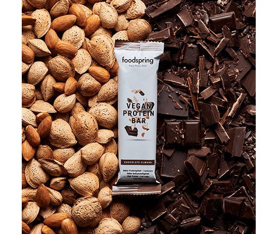 FOODSPRING vegan protein bar (chocolate-almond) 60g