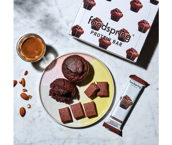 FOODSPRING protein bar chocolate muffin 60g