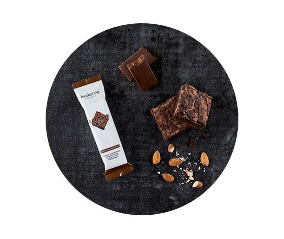 FOODSPRING protein bar chocolate browine 60g