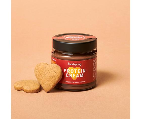 FOODSPRING protein crema lebkuchen-geschmack 200g