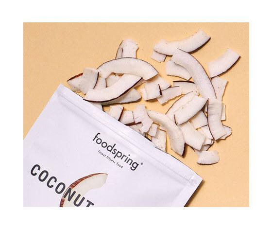 FOODSRING coconut chips 60g