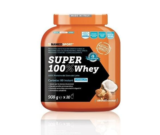 Named super 100% whey - almond and coconut