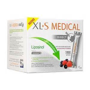XLS Medical Linea Controllo del Peso Liposinol Integratore 90 Buste Orosolubili consegna 24 ore
