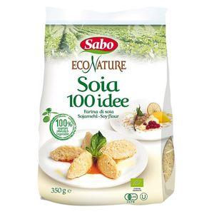 farina di soia bio 350g