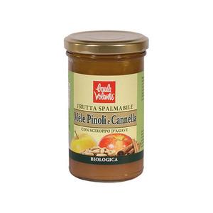 marmellata pinoli e cannella 280g s/z bio