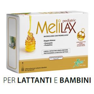 melilax pediatrico 6 microclismi aboca