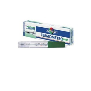 termometro clinico senza mercurio analogico master aid