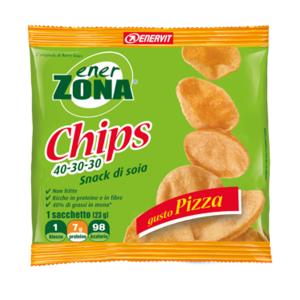 enerzona chips 40-30-30 soia gusto pizza 23g