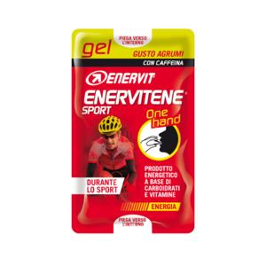 enervit enervitene sport gel one hand 2X12,5ml agrumi con caffeina - DURANTE