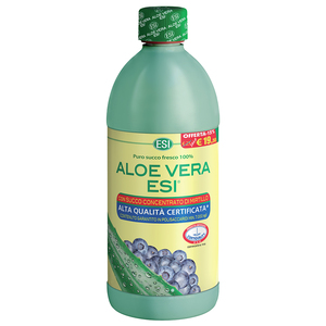 aloe vera esi + forte succo con mirtillo 1000ml