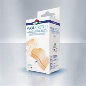 Master Aid Maxi Stretch Cerotto a taglio in tessuto elatico 50x6cm