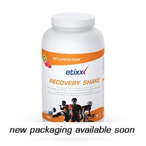 etixx recovery shake  lampone e kiwi 1,5 kg polvere