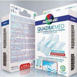 Masteraid Quadra Med Cerotti in morbido tessuto non tessuto 40pz in 5 formati