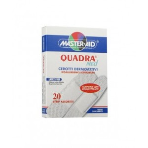 Masteraid Quadra Med Cerotti in morbido tessuto non tessuto 20pz in 2 formati