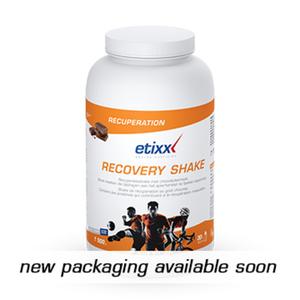 etixx recovery shake cioccolato 1,5 kg polvere