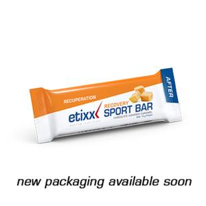 etixx recovery barrette 40 g caramello