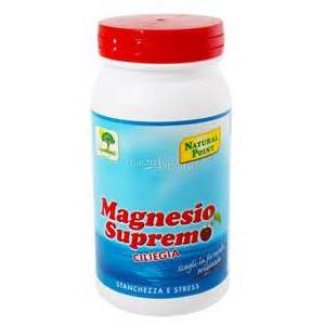 natural point magnesio supremo polvere 150g ciliegia
