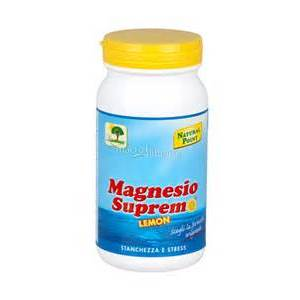 natural point magnesio supremo polvere 150g limone