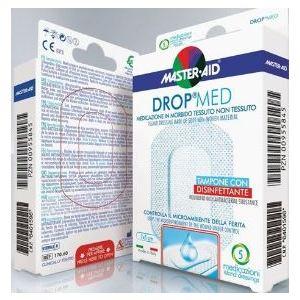 Master Aid Drop Med Medicazione in morbido tessuto non tessuto 7x5cm 5pz