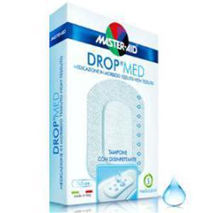 Master Aid Drop Med Medicazione in morbido tessuto non tessuto 10x6cm 5pz