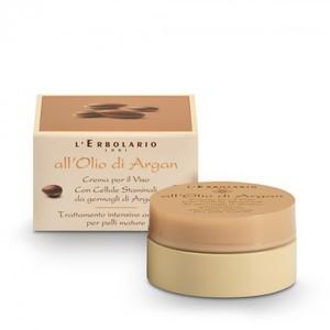 L'Erbolario All'Olio di Argan Crema per il viso – Trattamento intensivo anti-age 50 ml