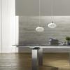 Glass metallo1 t 1160 tavolo allungabile