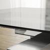 Glass metallo3 t 1160 tavolo allungabile