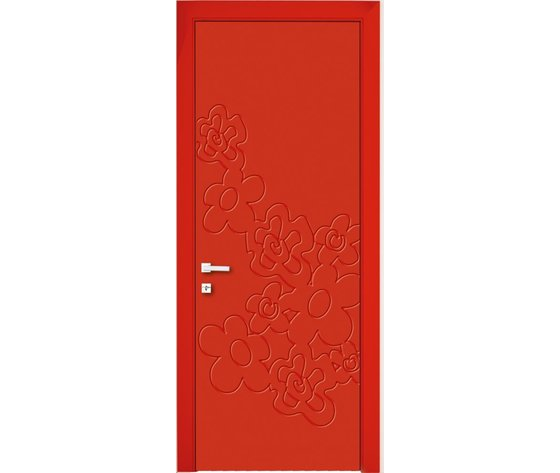 Porta Interna Trolius rosso