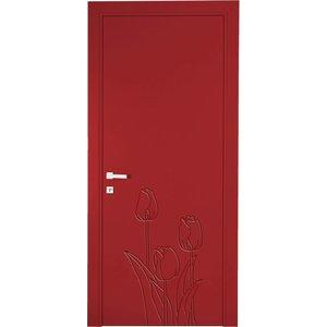 Porta Interna Tulipan rosso