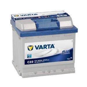 batterie Varta 52ah