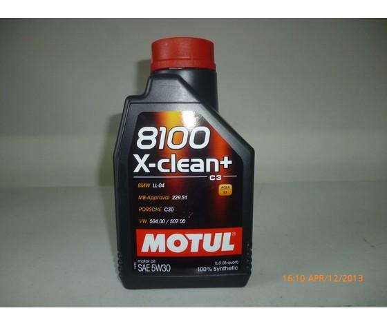 Motul 8100 xclean+ 5w30