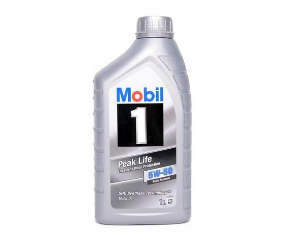 Mobil 1 5w50 peak life