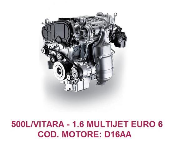 500L/VITARA COD. MOTORE: D16AA