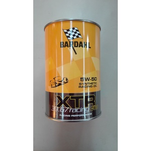 Bardahl 5w50 xtr 39.67 racing C60