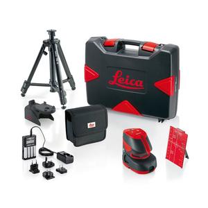 Livella laser a Punti e a Croce Autolivellante Leica Lino L2P5 PROPACK
