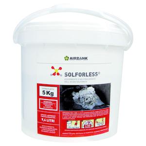 Assorbente neutralizzante per acido delle batterie