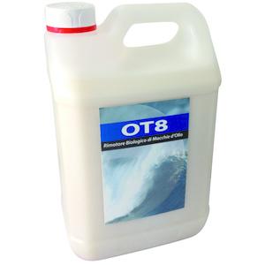 Liquido enzimatico per la rimozione di residui solidi e liquidi di idrocarburi