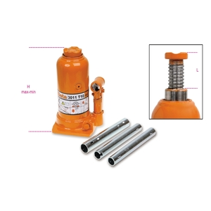 Sollevatore idraulico a bottiglia 5ton