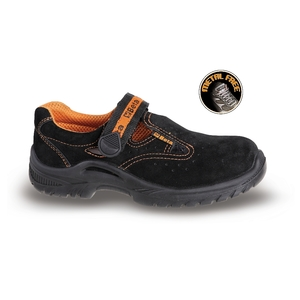sandali in pelle scamosciata METALFREE BETA7216bKK