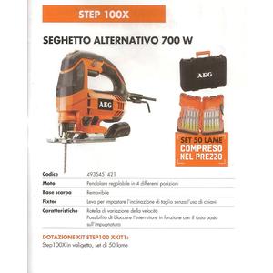 Seghetto alternativo AEG STEP100X