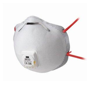Confezione n°10 mascherine monouso 3M mod. 8833