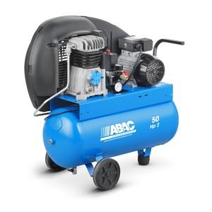Compressore ABAC 50 lt 2 HP azionamento a cinghia