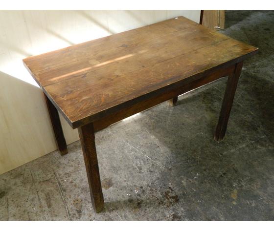 Tavolo rustico in rovere