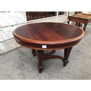 Elegante Tavolo Ovale Inglese Allungabile - Restaurato (in corso d'opera)