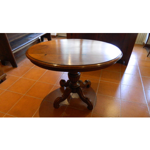 Tavolino Ovale stile Luigi Filippo - Restaurato