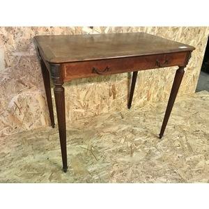 Tavolino/Scrittoio Napoleone III in Mogano - Restaurato (in corso d'opera)