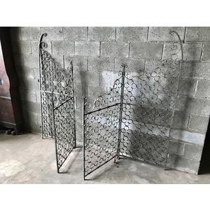 Originale Cancello da Salone in Ferro Battuto