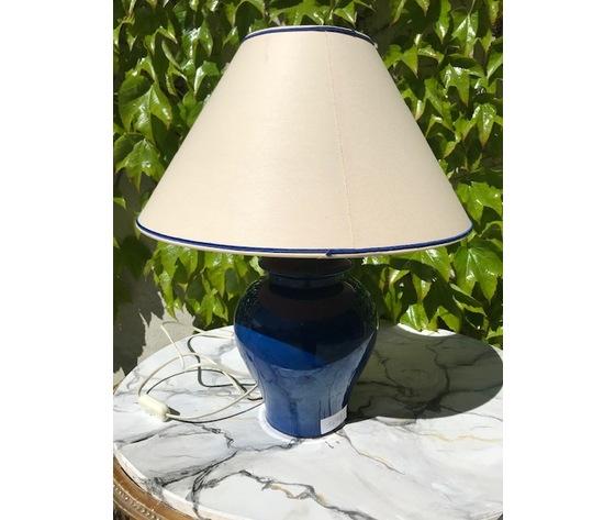 Lampada in Ceramica Blu