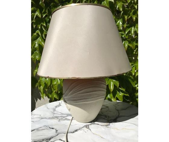 Lampada in Ceramica Color Sabbia