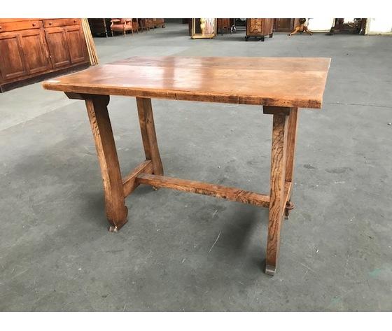 Tavolino/Scrittoio rustico in Rovere  - Restaurato (in corso d'opera)